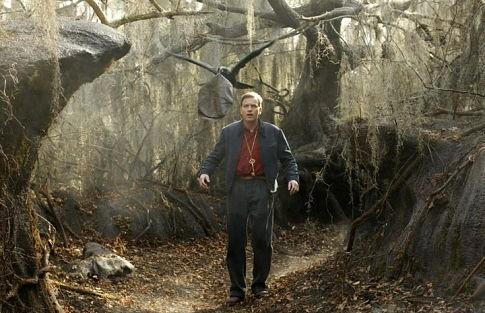Ewan McGregor in una scena del film Big Fish