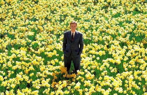 Ewan McGregor in una scena del film Big Fish (2003), regia di Tim Burton