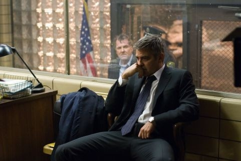 George Clooney in una scena di Michael Clayton