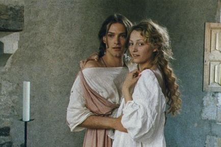 Stéphanie de Crayencour e Andy Gillet ne Gli amori di Astrea e Céladon