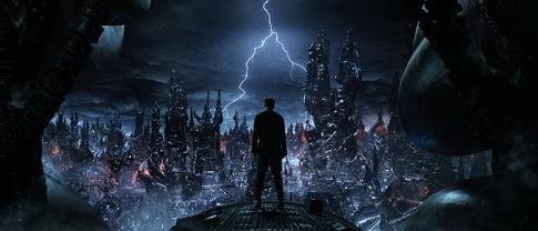 Una foto tratta dal film MATRIX REVOLUTIONS