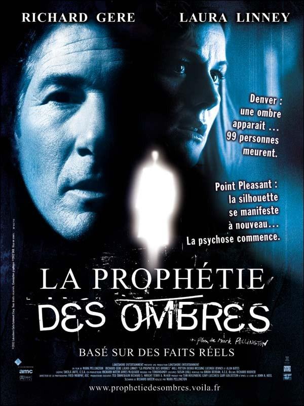 La locandina francese di THE MOTHMAN PROPHECIES - VOCI DALL'OMBRA