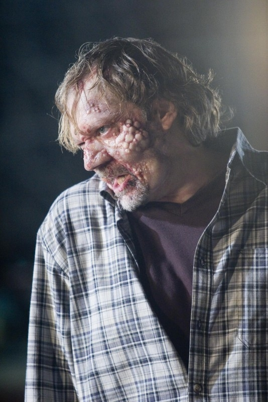 Una scena raccapricciante del film del film Planet Terror, episodio del double feature  Grind House