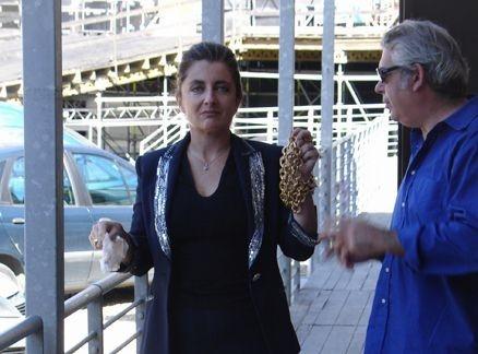Francesca Reggiani in una scena di Le ragioni dell'aragosta