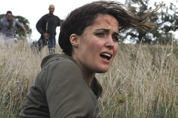 Rose Byrne in una scena del film 28 Weeks Later