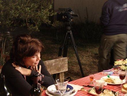 Sabina Guzzanti in una scena de Le ragioni dell'aragosta