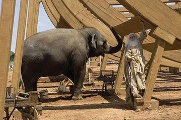 Steve Carell in una scena di Un'impresa da Dio