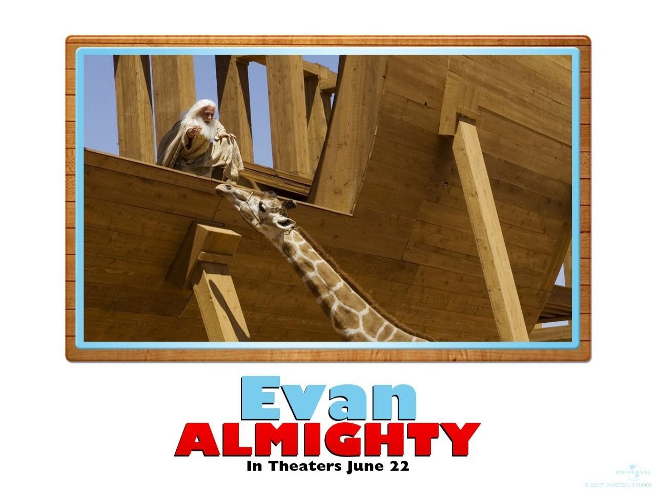 Wallpaper del film Un'impresa da Dio (Evan Almighty)