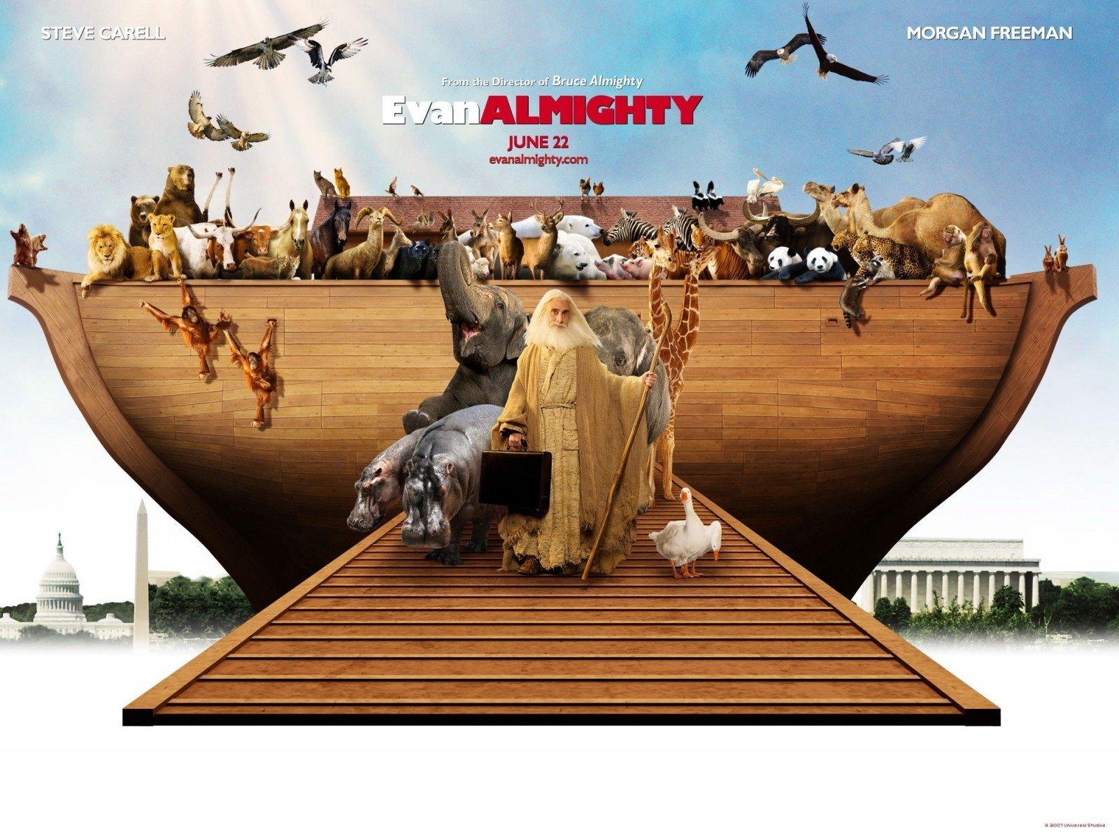 Wallpaper del film Un'impresa da Dio con l'Arca di Steve Carell