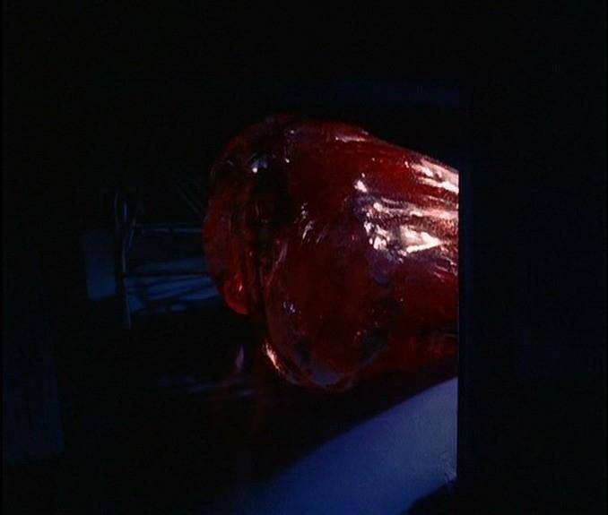 Una scena del film BLOB, FLUIDO MORTALE