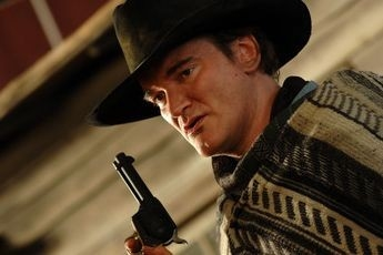 Quentin Tarantino in una scena di Sukiyaki Western Django