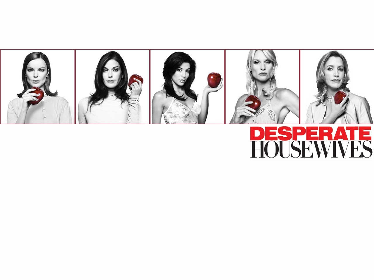Wallpaper della serie Desperate Housewives con le protagoniste