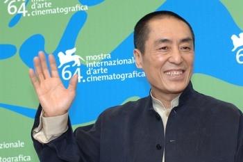 Il presidente della giuria internazionale di Venezia 64. Zhang Yimou