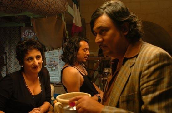 Una scena del film Il rabdomante