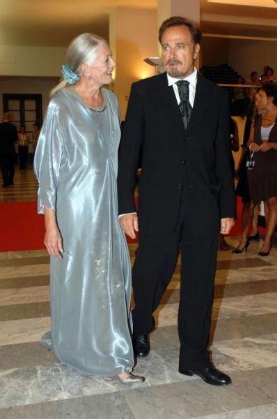 Vanessa Redgrave con il marito Franco Nero alla première veneziana di Espiazione