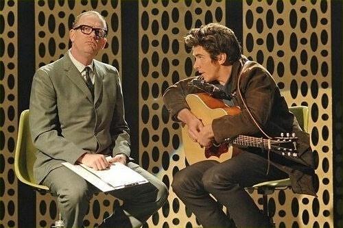 Christian Bale in una scena di Io non sono qui (2007)