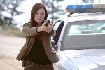 Julianne Moore in una sequenza del film Next