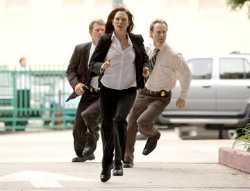 Julianne Moore in una scena del thriller sci-fi  Next