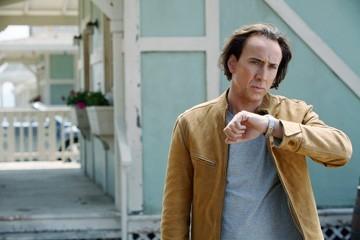 L'attore Nicolas Cage in una scena del film Next
