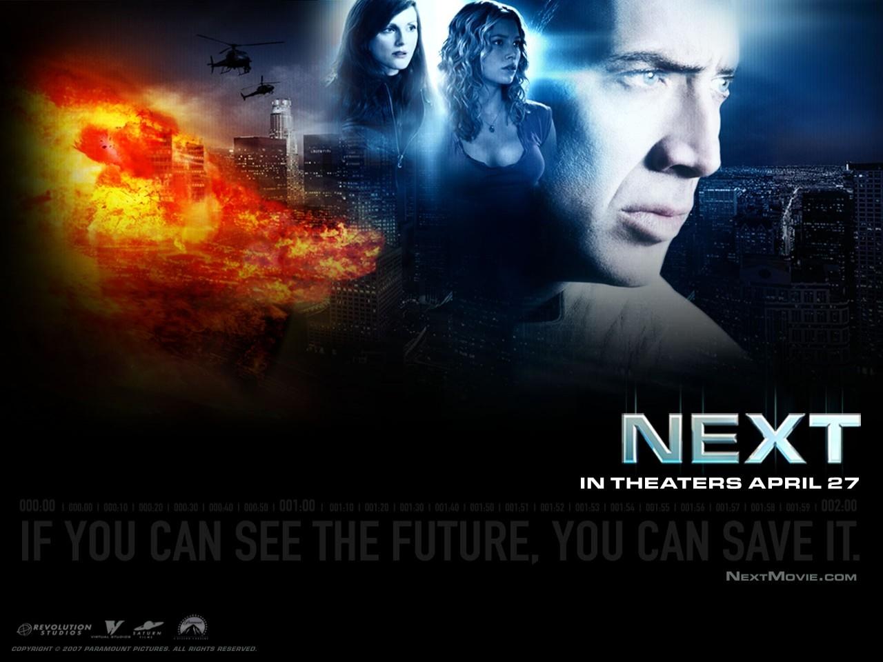 Desktop wallpaper del film Next