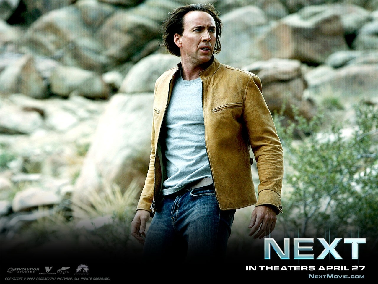 Wallpaper di Nicolas Cage nel film Next