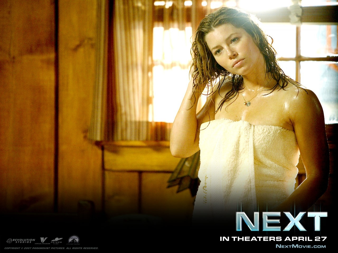 Wallpaper di Jessica Biel nel film Next