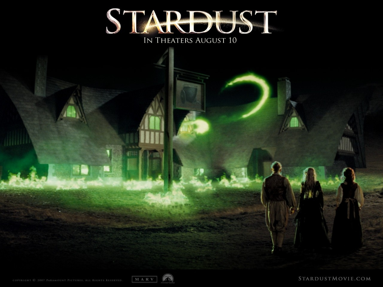 Uno splendido wallpaper del film Stardust