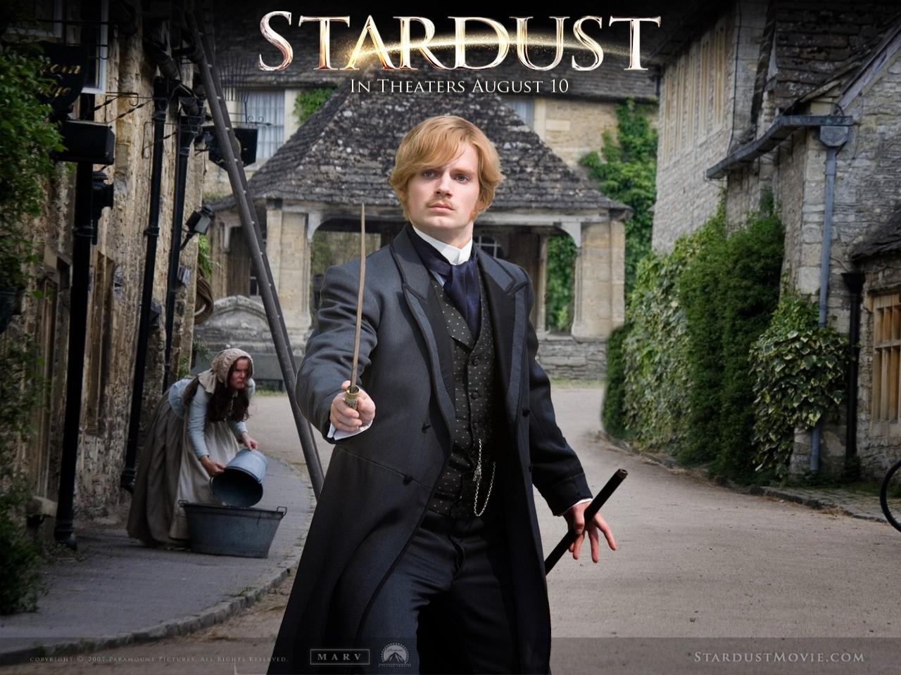 Wallpaper del film Stardust con uno dei protagonisti del film
