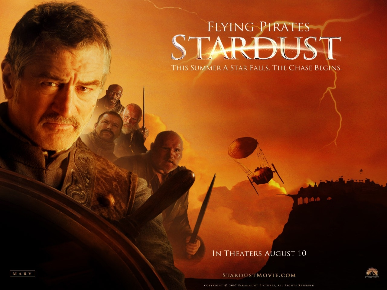 Wallpaper del film Stardust con Robert De Niro
