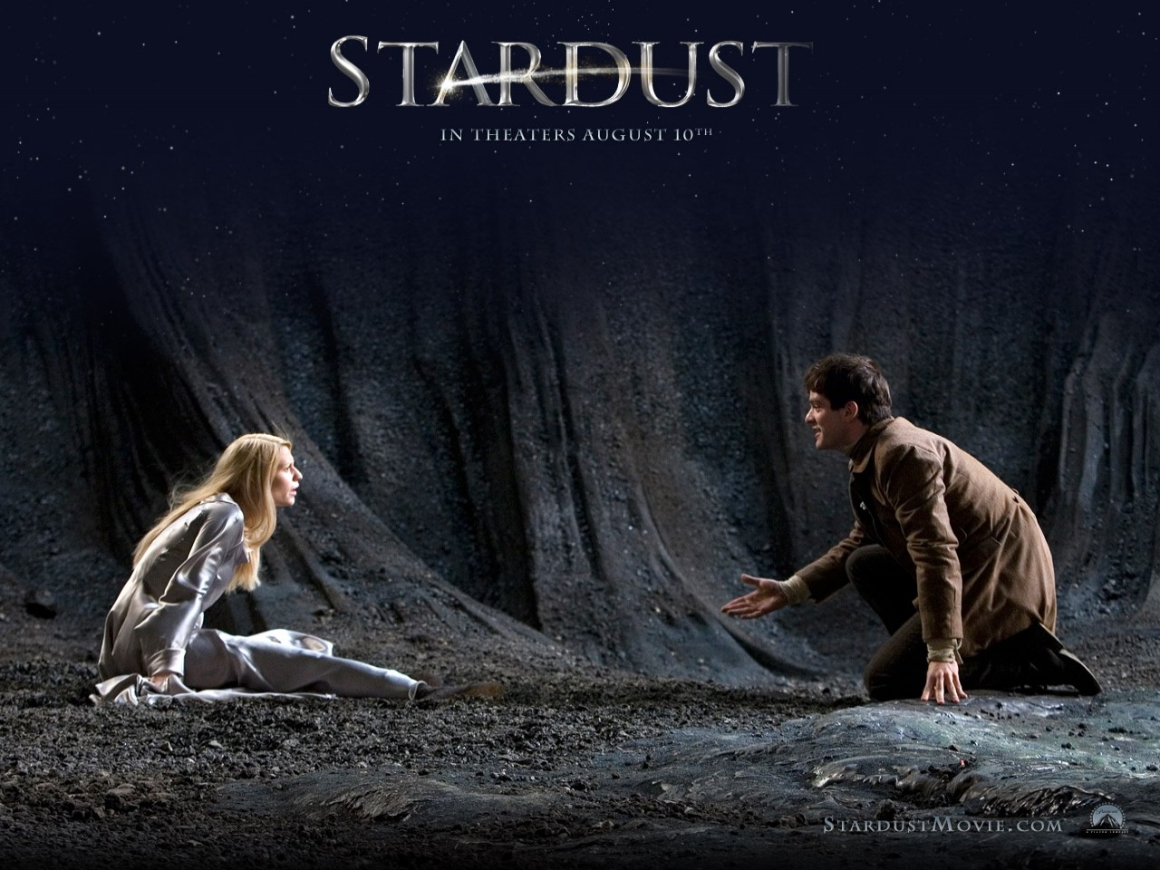 Wallpaper del film Stardust con i due protagonisti del film