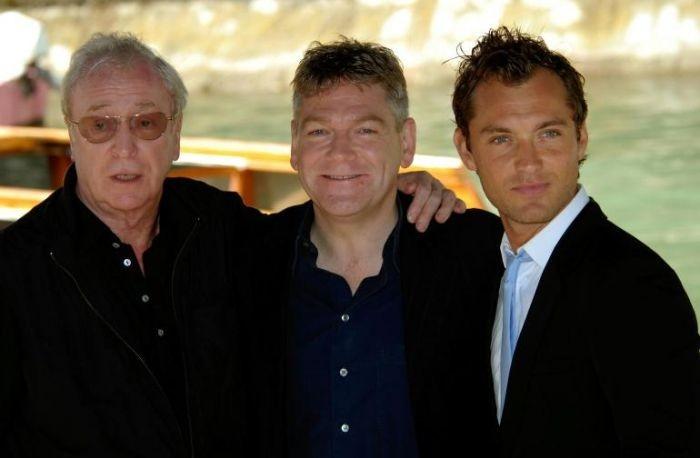 Kenneth Branagh, Jude Law e Michael Caine presentano Sleuth a Venezia 64.