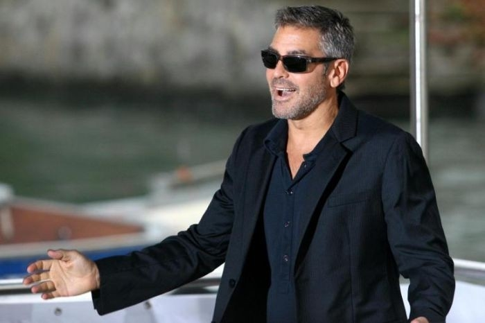Venezia 2007: il fascinoso George Clooney presenta Michael Clayton