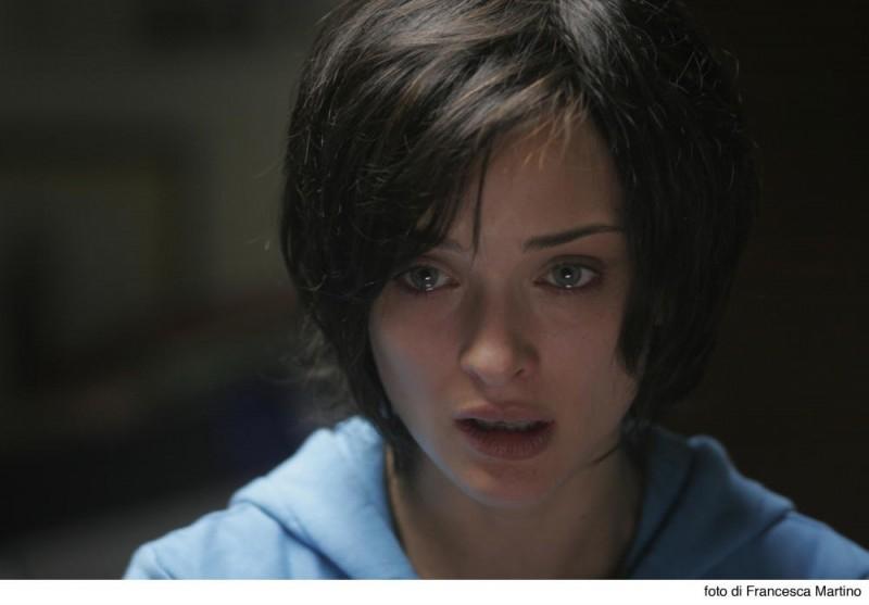 Carolina Crescentini in una scena del film Cemento armato