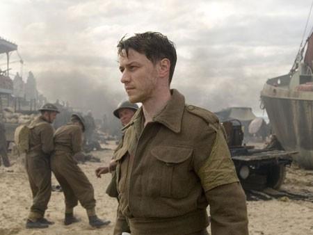 James McAvoy in una scena del film Espiazione