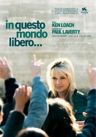La locandina italian di In questo mondo libero...