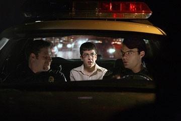 """Seth Rogen, Bill Hader e Christopher Mintz-Plasse in una scena di SuxBad ??"""" 3 menti sopra il pelo"""
