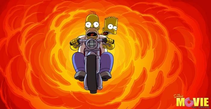 Un'immagine dal film de I Simpson