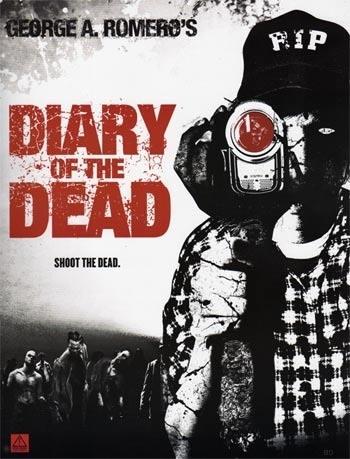 La locandina USA di Diary of the Dead