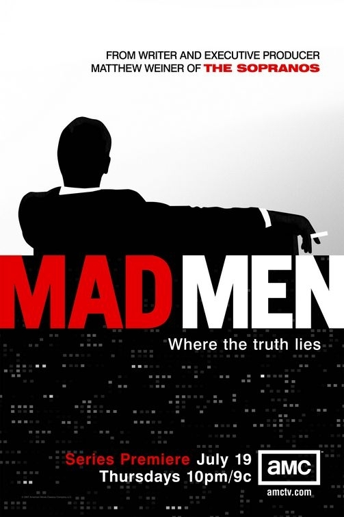 La locandina di Mad Men