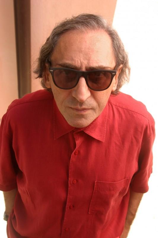 il cantautore siciliano Franco Battiato