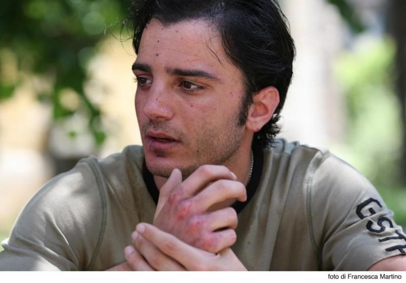 Nicolas Vaporidis alle prese con il suo primo ruolo drammatico nel film Cemento armato