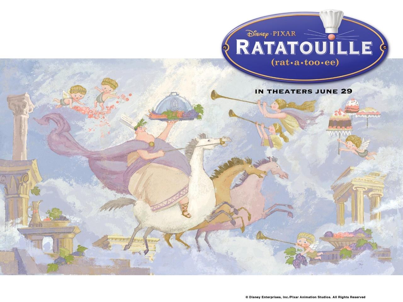 Wallpaper 'epico' del film Ratatouille