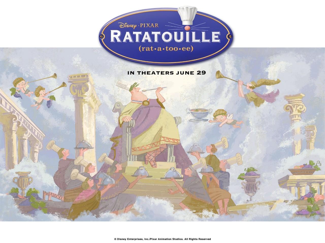 Wallpaper del film Ratatouille