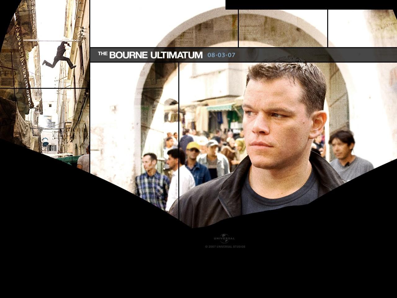 Wallpaper di Matt Damon film The Bourne Ultimatum - il ritorno dello sciacallo