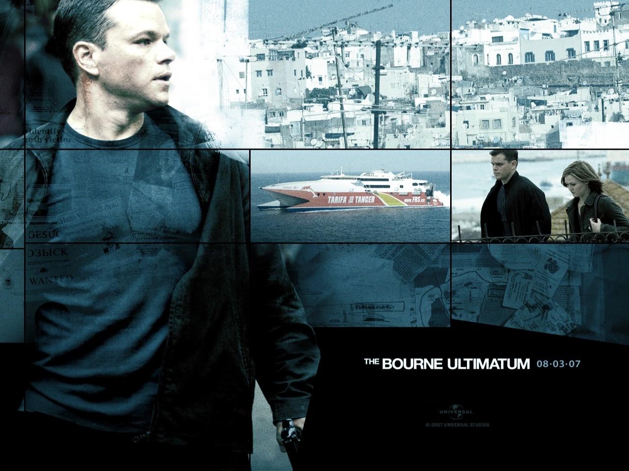 Desktop del film The Bourne Ultimatum - il ritorno dello sciacallo