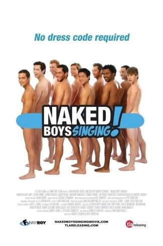 La locandina di Naked Boys Singing