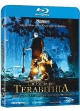 La copertina DVD di Un ponte per Terabithia (Blu-Ray)