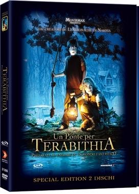 La copertina DVD di Un ponte per Terabithia - Edizione Deluxe