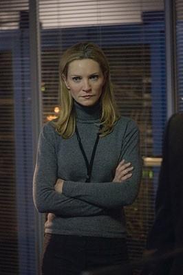 Joan Allen in una scena del film The Bourne Ultimatum - il ritorno dello sciacallo