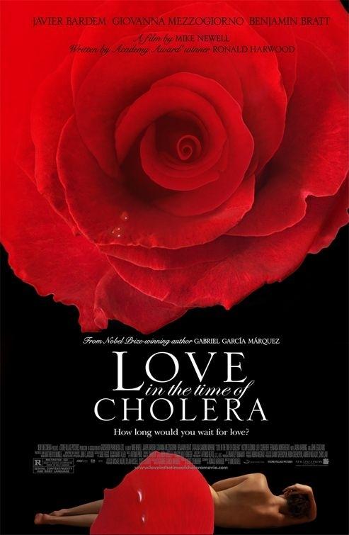 La locandina di L'amore ai tempi del colera